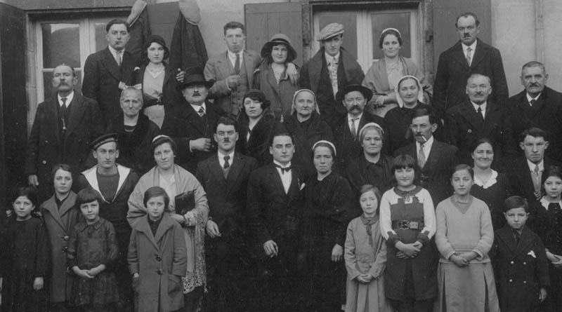 Photo de mariage en 1932