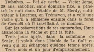Ouest eclair 31 juillet 1914