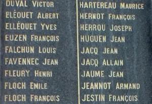 Monument aux morts de Landerneau