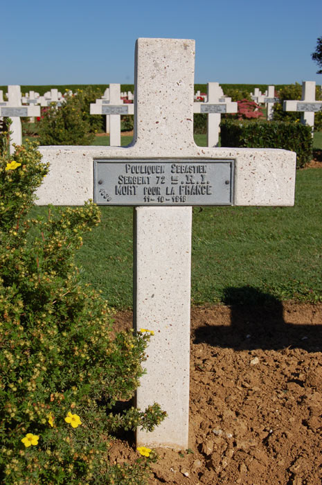 Tombe de Sébastien Pouliquen