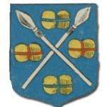 blason de la communauté des drapiers, sergers et armuriers d'Auray